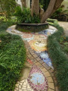 Mosaic Patio 145